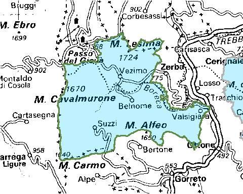 Inquadramento territoriale di it4010012
