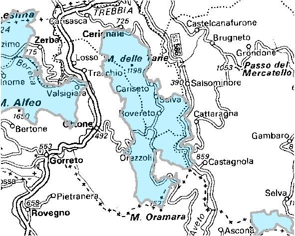 Inquadramento territoriale di it4010013