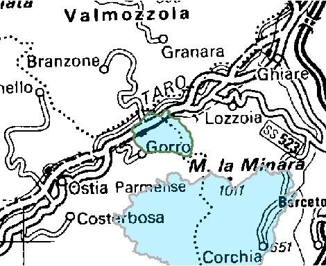 Inquadramento territoriale di it4020011
