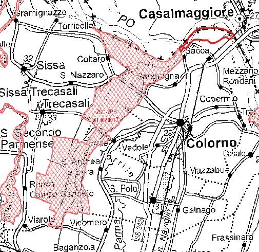 Inquadramento territoriale di it4020017