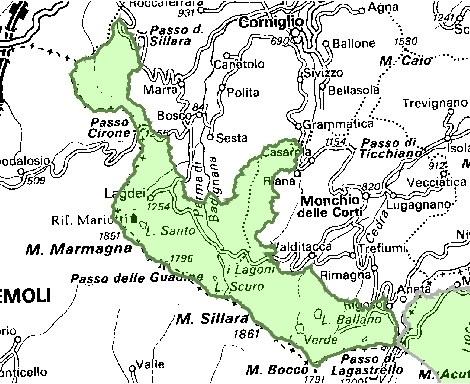 Inquadramento territoriale di it4020020