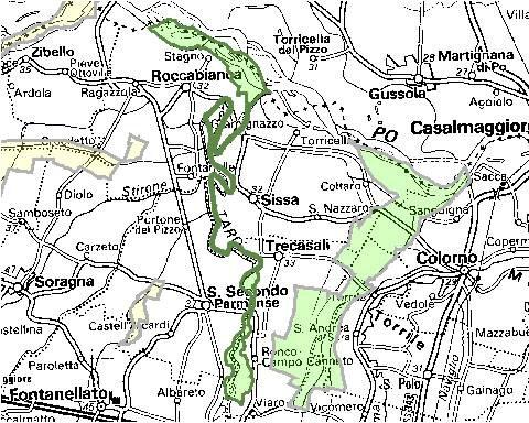 Inquadramento territoriale di it4020022