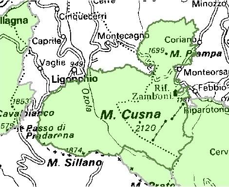 Inquadramento territoriale di it4030004