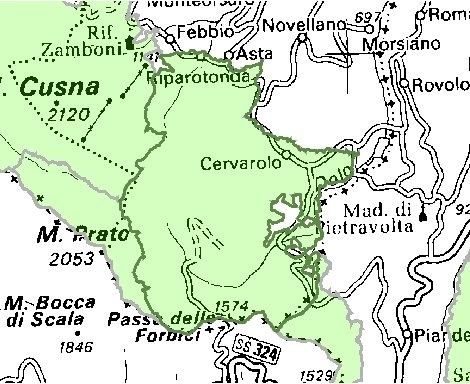 Inquadramento territoriale di it4030005