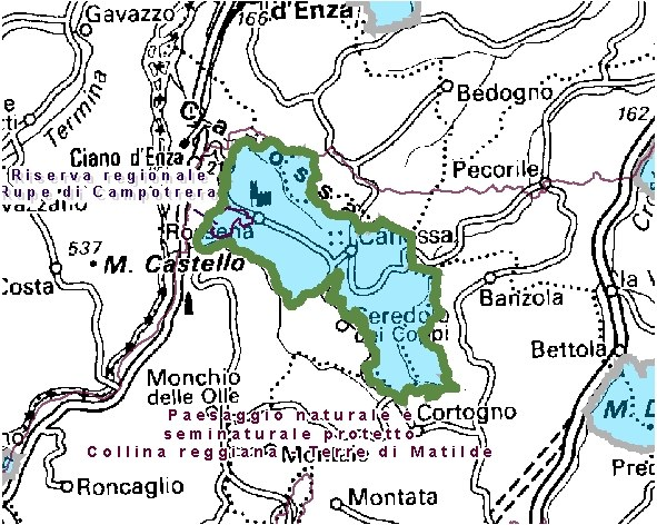 Inquadramento territoriale di it4030014