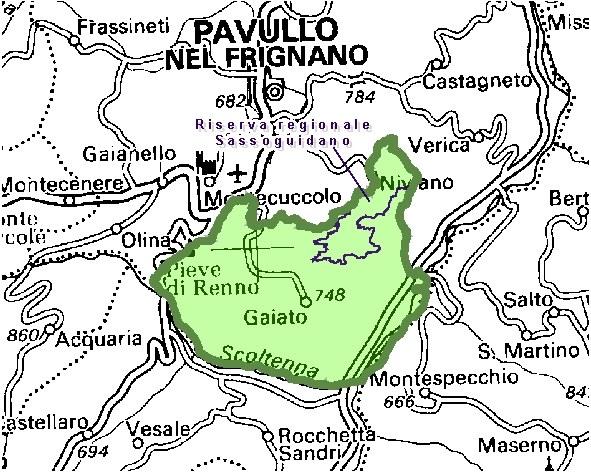 Inquadramento territoriale di it4040004