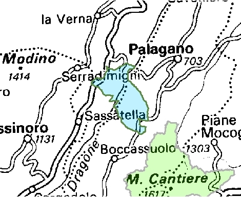 Inquadramento territoriale di it4040006