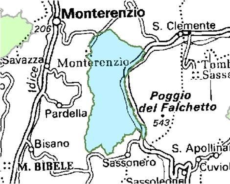 Inquadramento territoriale di it4050011