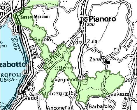 Inquadramento territoriale di it4050012