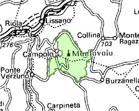 Inquadramento territoriale di it4050013