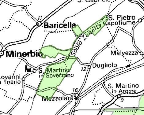 Inquadramento territoriale di it4050023