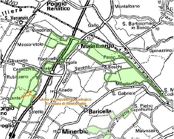Inquadramento territoriale di it4050024