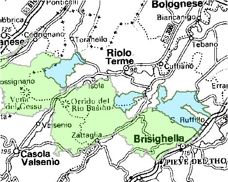Inquadramento territoriale di it4070025