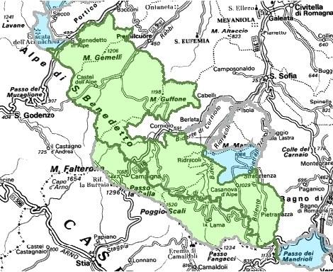 Inquadramento territoriale di it4080003