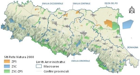 Rete Natura 2000 aggiornata 2021