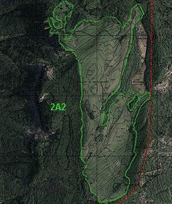 divieto di eliminazione prati-habitat. GIS Servizio Parchi