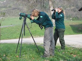 Guardie Ecologiche Volontarie in azione - foto archivio Servizio Parchi