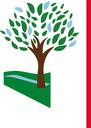 Albero, logo base bianca