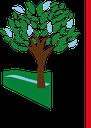 Albero, logo base trasparente