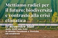 """""""Mettiamo radici per il futuro"""": biodiversità e contrasto alla crisi climatica"""