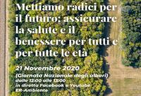 """Mettiamo radici per il futuro, il 21 novembre il webinar """"Assicurare la salute e il benessere per tutti e per tutte le età"""""""