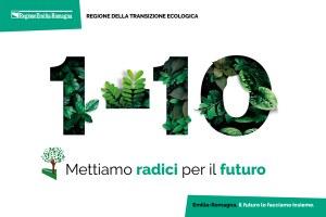 """""""Mettiamo radici per il futuro"""", riparte da venerdì 1^ ottobre il piano della Regione per fare dell'Emilia-Romagna il """"corridoio verde"""" d'Italia"""