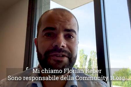 Video intervento di Florian Reber - World Economic Forum