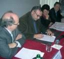 La firma della Carta di Bologna