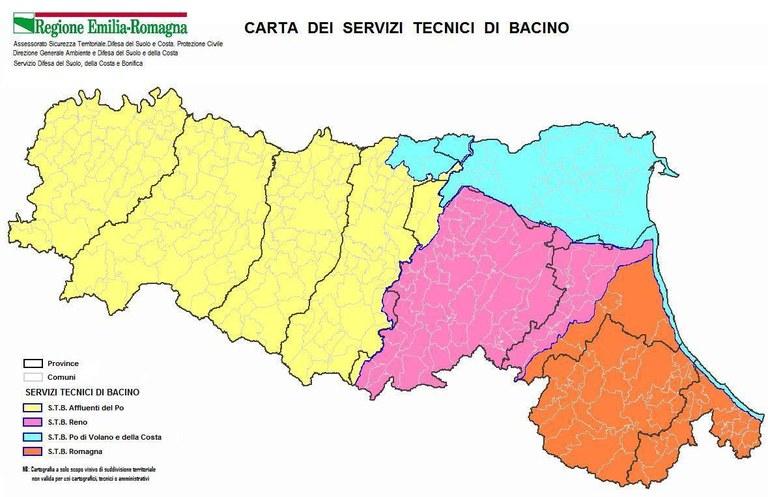 Carta Servizi Tecnici di Bacino