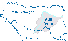 Corografia bacino Reno e RER RT