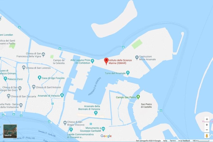 Mappa sede Meeting