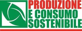 logo produzione e consumo sostenibile